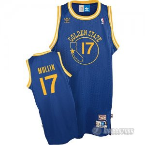 Maillot Golden State Warriors Mullin #17 Bleu