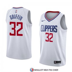 Maillot Los Angeles Clippers Blake Griffin Association 2018 Blanc