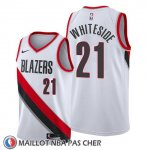 Maillot Portland Trail Blazers Hassan Whiteside Association Blanc