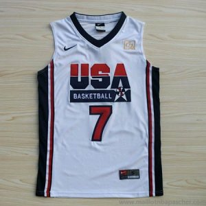 Maillot de Bird USA NBA 1992