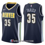 Maillot Denver Nuggets Kenneth Faried Icon 35 2017-18 Bleu