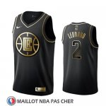 Maillot Golden Edition Los Angeles Clippers Kawhi Leonard Noir