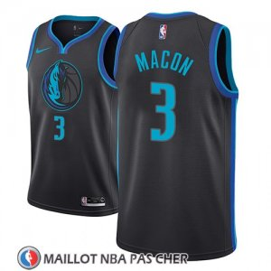 Maillot Dallas Mavericks Daryl Macon Ciudad 2018-19 Bleu