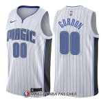 Maillot Orlando Magic Aaron Gordon Association 00 2017-18 Blanc