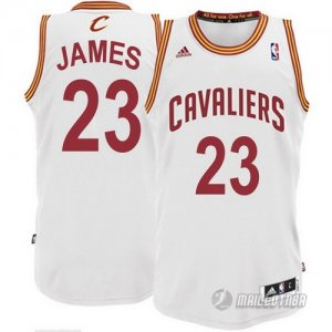 Maillot Blanc James Cleveland Cavaliers Revolution 30