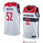 Maillot Washington Wizards Jordan Mcrae Association 2018 Blanc