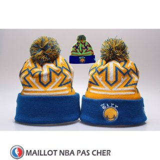 Bonnet Golden State Warriors Bleu Jaune