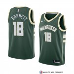 Maillot Milwaukee Bucks Jordan Barnett Icon 2018 Vert