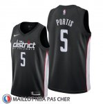 Maillot Washington Wizards Bobby Portis Ville Noir