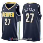 Maillot Denver Nuggets Jamal Murray Icon 27 2017-18 Bleu