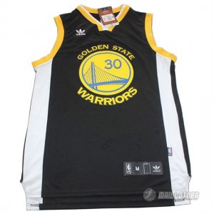 Maillot Noire Curry Golden State Warriors Revolution 30