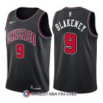 Maillot Chicago Bulls Antonio Blakeney Statement 9 2017-18 Noir