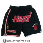Short Miami Heat Just Don Noir
