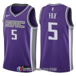 Maillot Sacramento Kings De'aaron Fox Icon 5 2017-18 Volet