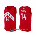 Maillot Tornto Raptors Danny Green Earned Rouge