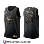 Maillot Golden Edition Chicago Bulls Michael Jordan Noir