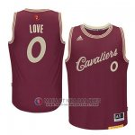 Maillot Cleveland Cavaliers Love Noël #0 Rouge