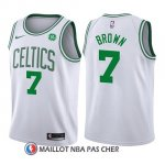 Maillot Enfant Boston Celtics Jaylen Brown Association 2017-18 7 Blanc
