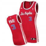 Maillot Femme de Chris Paul Los Angeles Clippers #3 Rouge