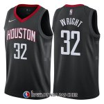 Maillot Houston Rockets Brandan Wright Statement 32 2017-18 Noir