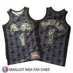 Maillot Orlando Magic Tracy Mcgrady No 1 Retro Noir