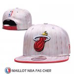 Casquette Miami Heat 9FIFTY Snapback Rosa