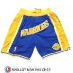 Short Golden State Warriors Just Don Classic Bleu