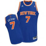 Maillot Bleu Anthony New York Knicks Revolution 30