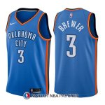 Maillot Oklahoma City Thunder Corey Brewer Icon 3 2017-18 Bleu