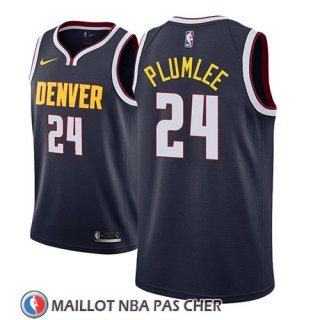Maillot Denver Nuggets Mason Plumlee Icon 2018-19 Bleu
