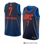 Maillot Oklahoma City Thunder Timothe Luwawu-cabarrot Statement 2018 Bleu