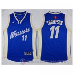 Maillot Golden State Warriors Thompson Noel #11 Bleu