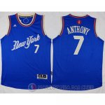 Maillot New York Knicks Anthony Noel #7 Bleu