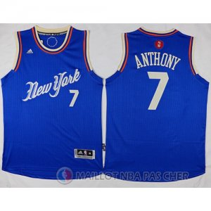 Maillot New York Knicks Anthony No?l #7 Bleu