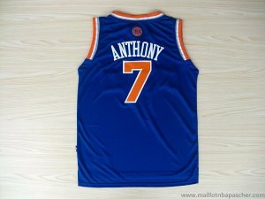 Maillot Knicks Anthony 7 Bleu Revolution 30