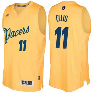 Maillot Navidad 2016 Monta Ellis Pacers 11 Blond