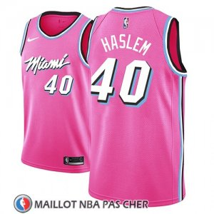 Maillot Miami Heat Udonis Haslem Earned 2018-19 Rosa