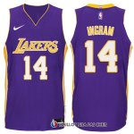 Maillot Authentique Los Angeles Lakers Ingram 2017-18 14 Volet