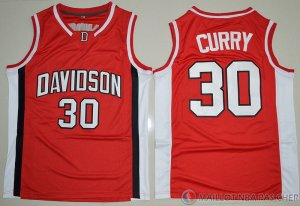 Maillot NCAA Stephen Curry Rouge