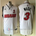 Maillot Blanc Wade Miami Version Heat Revolution 30