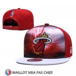 Casquette Miami Heat 9FIFTY Snapback Rouge