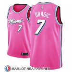 Maillot Miami Heat Goran Dragic Earned 2018-19 Rosa