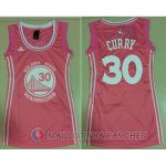 Maillot NBA Femme de Curry Golden State Warriors 30# Rose