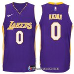 Maillot Authentique Los Angeles Lakers Kuzma 2017-18 0 Volet