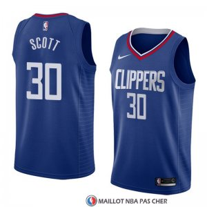 Maillot Los Angeles Clippers Mike Scott Icon 2018 Bleu