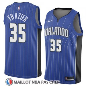 Maillot Orlando Magic Melvin Frazier No 35 Icon 2018 Bleu