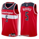 Maillot Washington Wizards Markieff Morris Icon 5 2017-18 Rouge