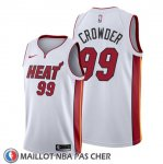 Maillot Miami Heat Jae Crowder Association 2019-20 Blanc