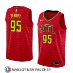 Maillot Atlanta Hawks Deandre' Bembry No 95 Statement 2018 Rouge