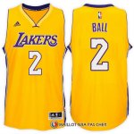 Maillot Los Angeles Lakers Ball 2 Jaune